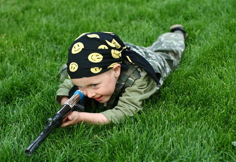 как детям играть в пейнтбол